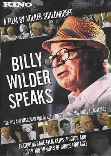 BILLY WILDER SPEAKS BY SCHLONDORFF,VOLKER (DVD)
