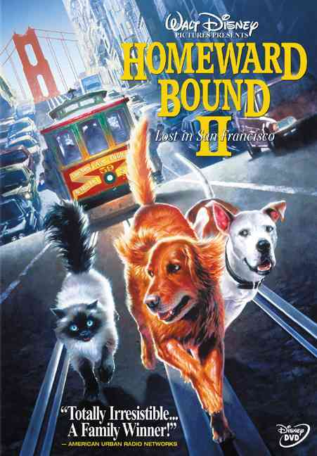 HOMEWARD BOUND 2:LOST IN SAN FRANCISC BY HAYS,ROBERT (DVD)